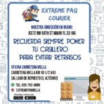 extreme paq courier carr. mella contacto: 809-792-4080