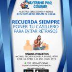 extreme paq courier invivienda contacto: 809-435-9146